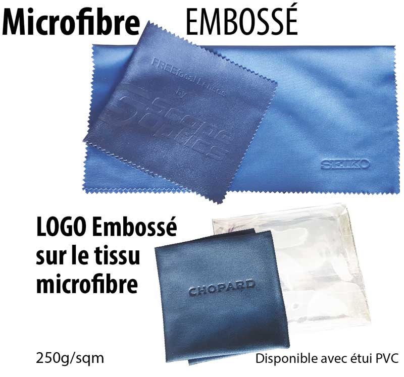 microfibre embossé