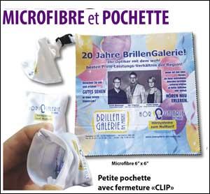 Microfibre et pochette'