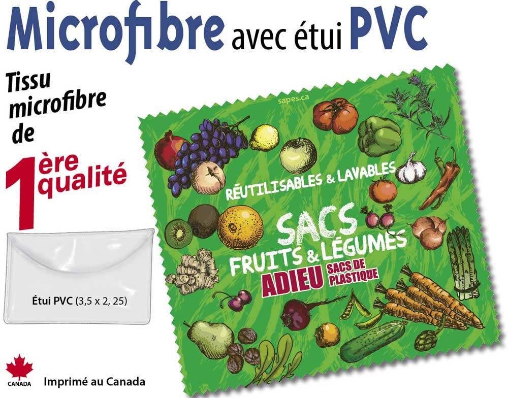 Microfibre et PVC