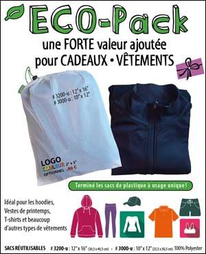 Sacs réutilisables Éco-Pack