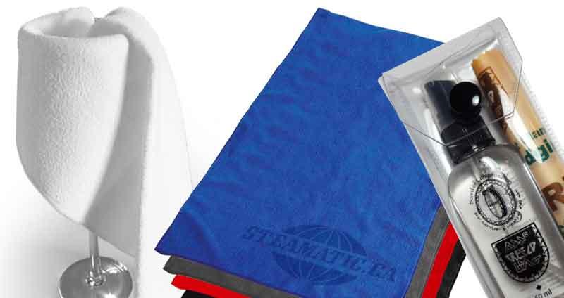 Microfibre avec carton et Stick Clean