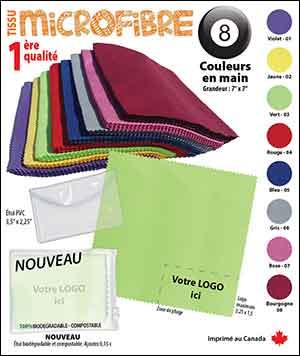 Microfibre couleur unie