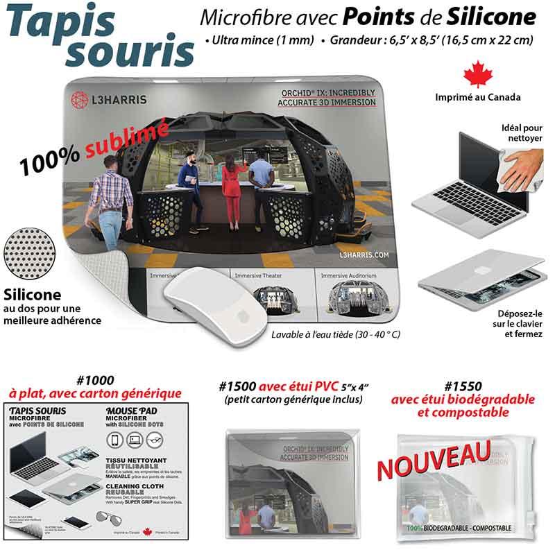 publicité tapis de souris